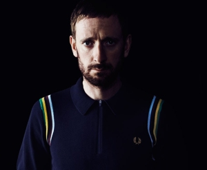 Bradley Wiggins wearing Fred Perry. Plenty of scope for reflective strips here.